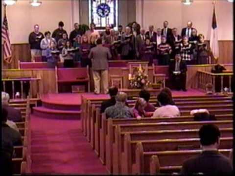"""""""Power In The Blood"""" - Mount Carmel Baptist Church Choir, Fort Payne Alabama January 2003"""