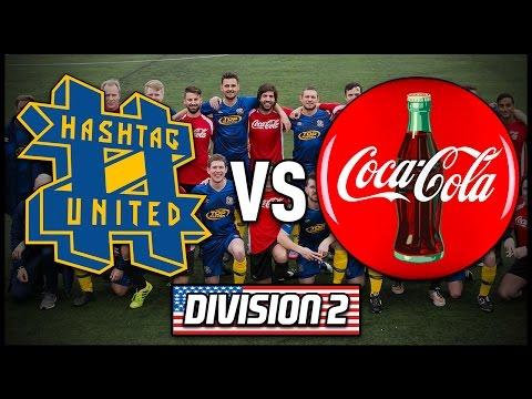HASHTAG UNITED vs COKE UNITED | #CocaColaUSTour