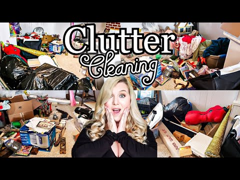 HOARDER!!! MESSY HOUSE TRANSFORMATION! CLEAN WITH ME! CLEANING MOTIVATION! LIVING WITH CAMBRIEA