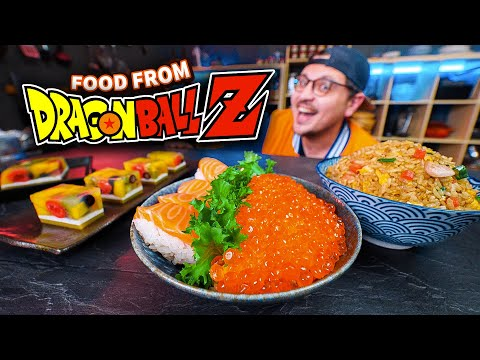 What Does Food From Dragon Ball Z Taste Like?