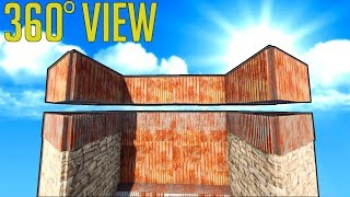 Rust Base Building 3.0 - THE 360 FULL VIEW EPIC BASE