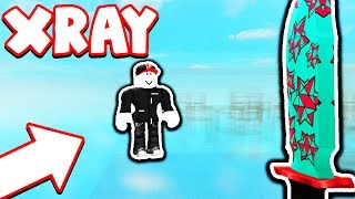 Getting XRay Perk VS GUEST! (Roblox Murder Mystery 2)