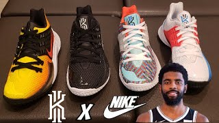 nIKE KYRIE LOW 2 SNKR COMPARISON  IN STORE REVIEW