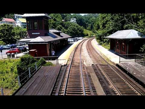 Cheater train into Washington DC.  Bailed off my freight train in Harper's Ferry West Virginia