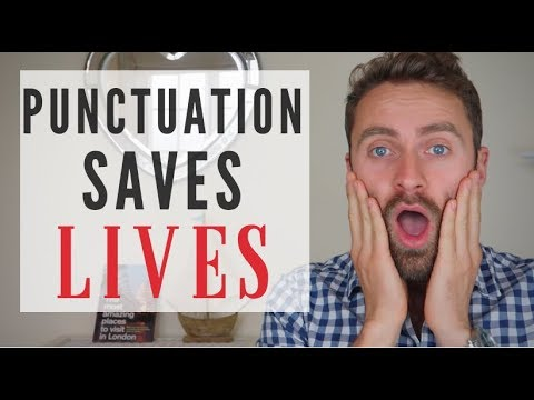 PUNCTUATION SAVES LIVES!!! | English Writing Skills | COMMAS