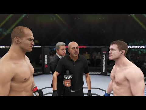 UFC dos Santos VS Matt Hughes Play against a giant that specializes in tapping opponents with force