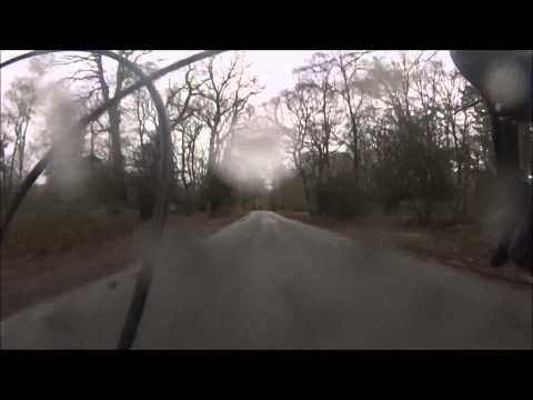 40+mph into Nomansland - Yeehaa!