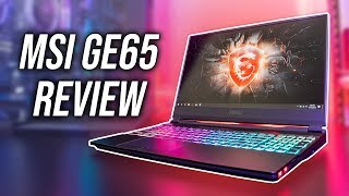 MSI GE65 9SE Gaming Laptop Review - RTX 2060 Goes Beast Mode ?