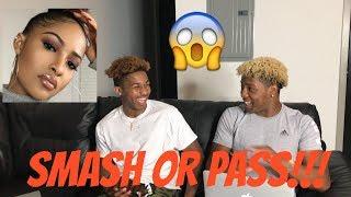 SMASH OR PASS: YOUTUBER EDITION!! ft Pontiacmadeddg