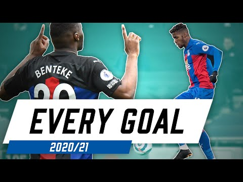 EVERY CRYSTAL PALACE GOAL FROM THE 2020/21 SEASON