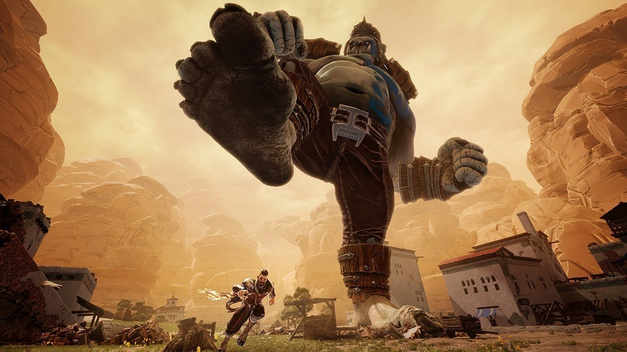 Extinction Hands-On Preview: God of War Meets Shadow of the Colossus