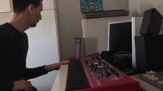 Backin track fusion in B minor #Lick #Jazz #music #piano