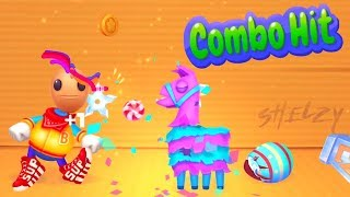 Kick the Buddy: Forever Fortnite Llama and Surprise Eggs vs The Buddy | Kick the Buddy: Forever
