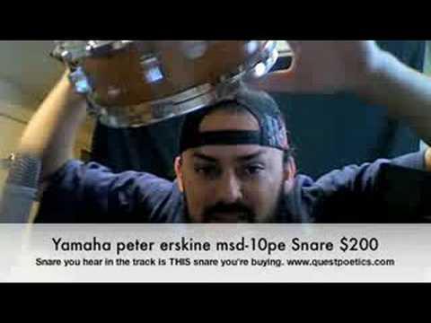 Yamaha Peter Erskine Snare $200