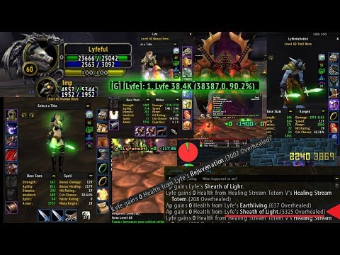 Ascension Wow Healer Build