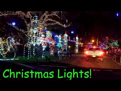CHRISTMAS LIGHTS! Snug harbor, Palm Beach Gardens