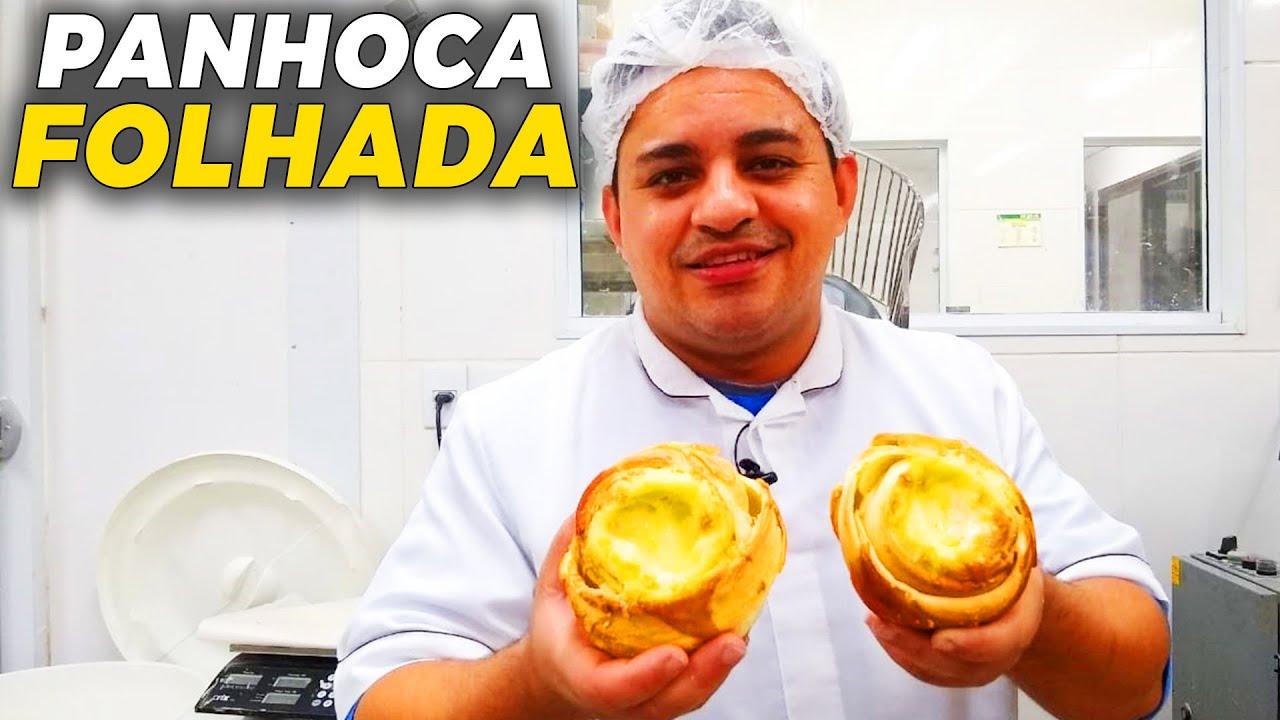 PANHOCA FOLHADA E COM MUITO RECHEIO! | Ewerton Santana