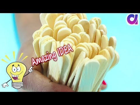 The best Amazing Ice Cream Stick Craft ideas | Best out of waste | Artkala 361