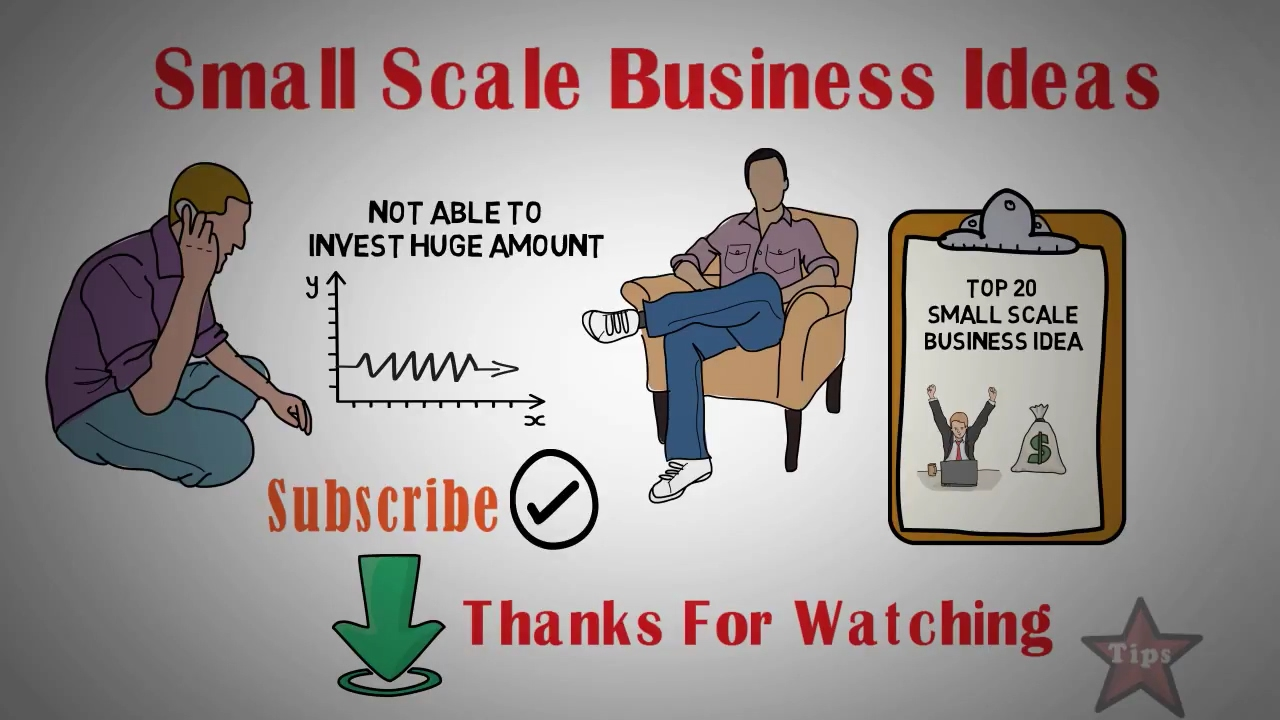 Top 20 Small Scale Business Ideas In India With Low Invest