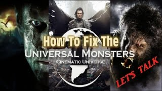 let s talk about how to revive the universal studios monsters