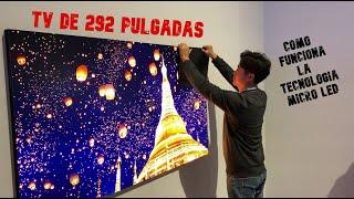 ¡Una TV de 292 pulgadas! Cómo funciona la tecnología Micro LED -  Samsung CES 2020