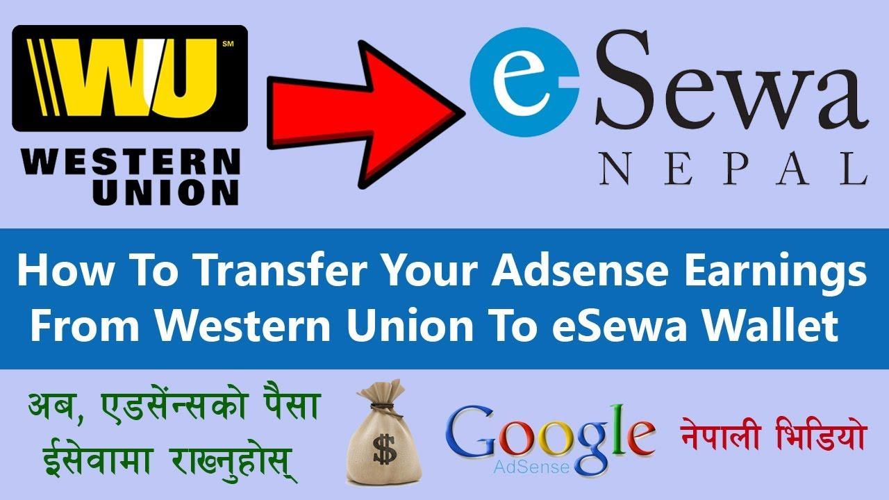 how to transfer money from western union to your esewa wallet in rh youtube com transfer money to nepal from india transfer money to nepal from india icici bank