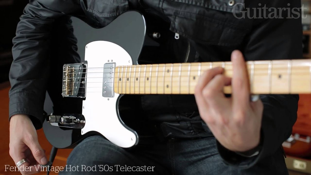 Vintage hot rod tele