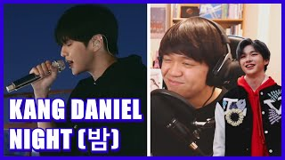 KANG DANIEL (강다니엘) - Night (밤) Live Clip Reaction [HE CONTINUES TO DELIVER]
