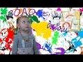 Волосы дыбом! Необычная техника рисования  Видео для детей