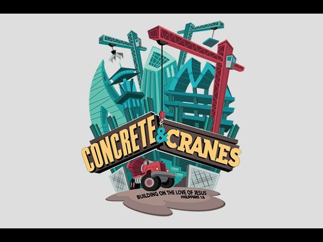 Day 1 - Concrete and Cranes VBS at First Baptist Thomson 6/22/20