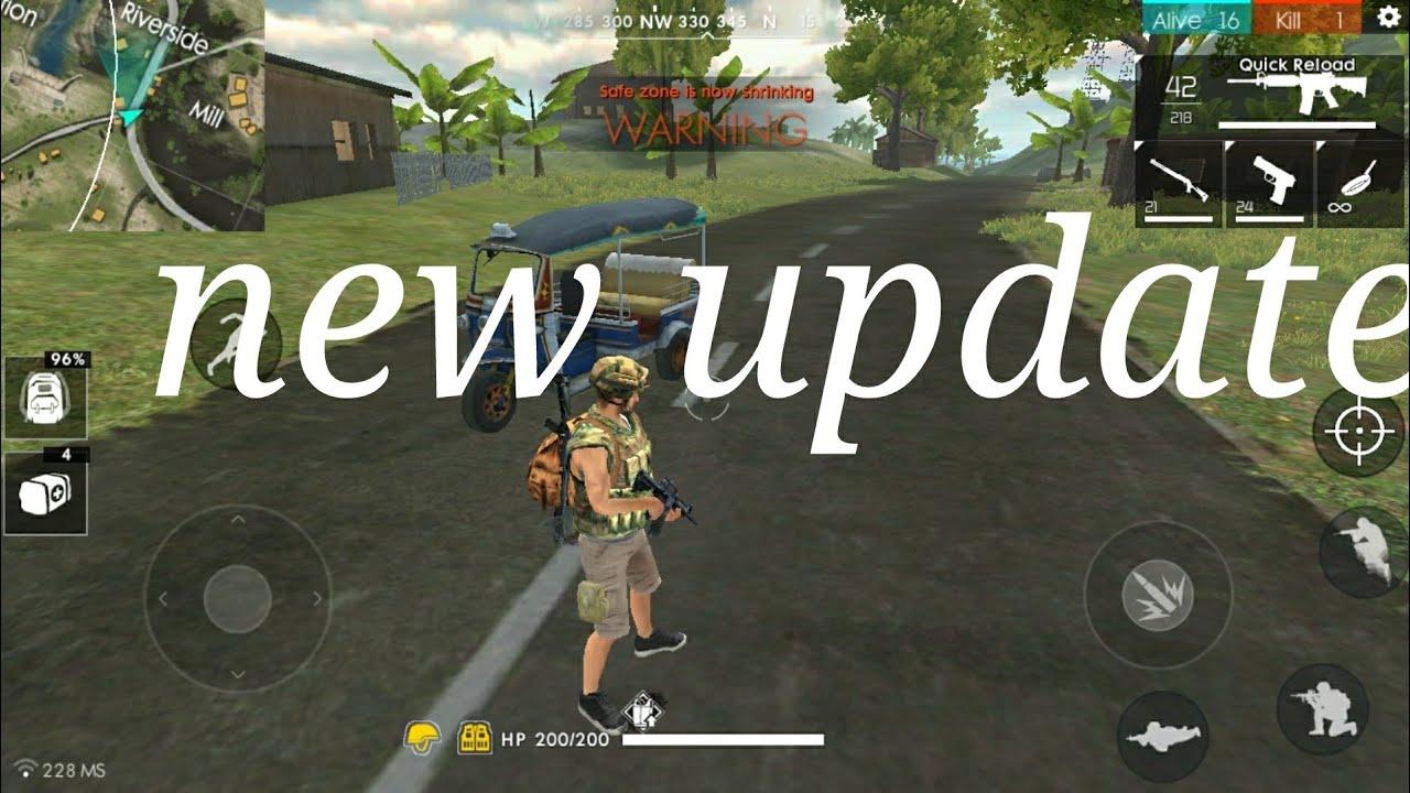 free fire battleground new update youtube. Black Bedroom Furniture Sets. Home Design Ideas