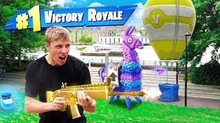 Download REAL LIFE FORTNITE CHALLENGE Mp3 and Videos