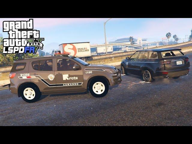 GTA V Rotina Policial: Perseguição de Carro Roubado - PMESP #24