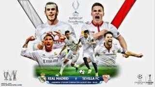 Lịch thi đấu hôm nay, tỷ lệ cá cược chung kết Siêu cúp bóng đá châu âu,  Real Madrid vs sevilla