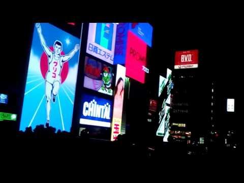 Dotonbori night, Osaka-Japan 2017.