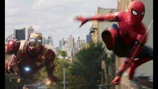 Клип Человек паук возвращение домой (Starset)