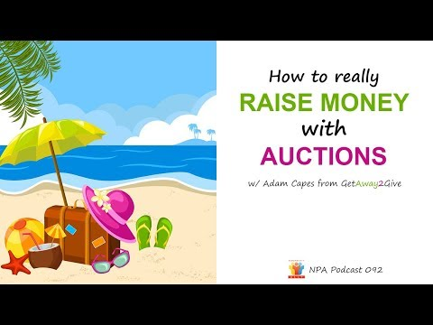 How to Raise Money with Auctions