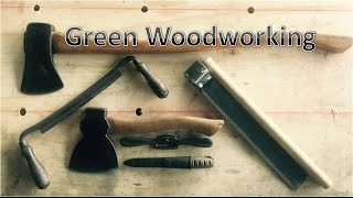 50 Dollar Tool Kit for Green Woodworking