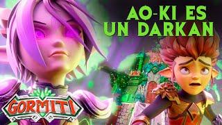 GORMITI | Ao-Ki se convierte en Darkan 😰💀