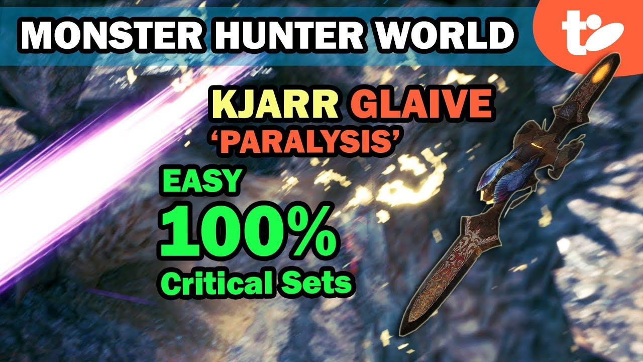 MHW: Critical Status not working on Kjarr weapons, will be