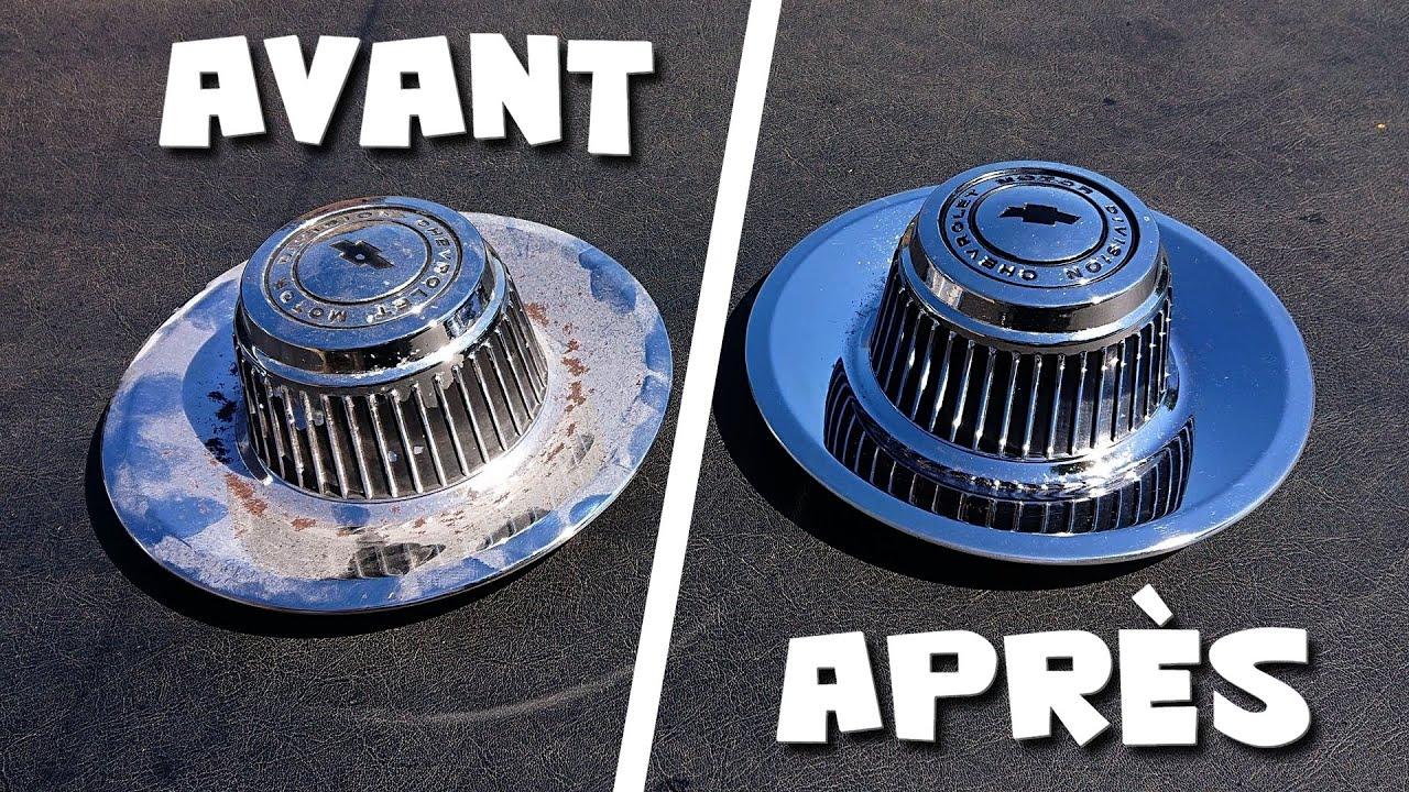 COMMENT RÉNOVER DES CENTER CAPS ? - Chevrolet Rallye Wheels