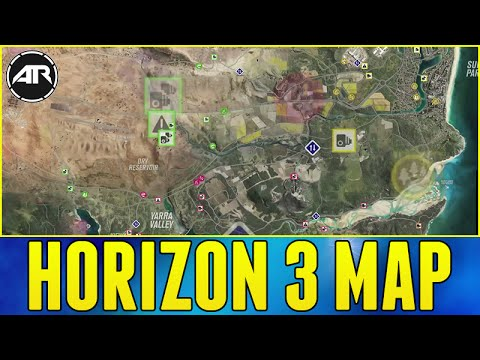 Forza horizon 3 map everything you need to know about the fh3 everything you need to know about the fh3 map youtube gumiabroncs Images