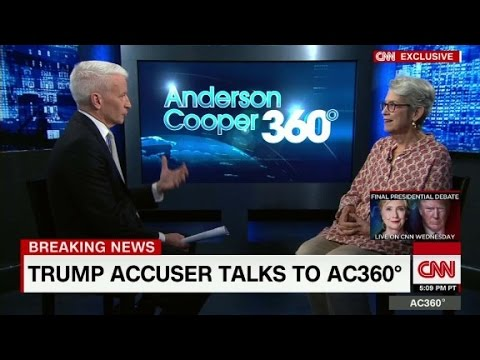 (Part 1) Donald Trump accuser speaks to Anderson Cooper