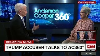 (Part 1) Donald Trump accuser speaks to Anderson Cooper