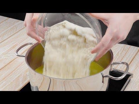 Du kochst 500 g Mehl im Topf & kriegst dieses Ungetüm!
