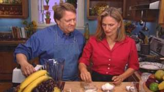 Regina's  Vegetarian Table - Bananas Campbell And  Strawberry Yogurt Crepes: Episode 504