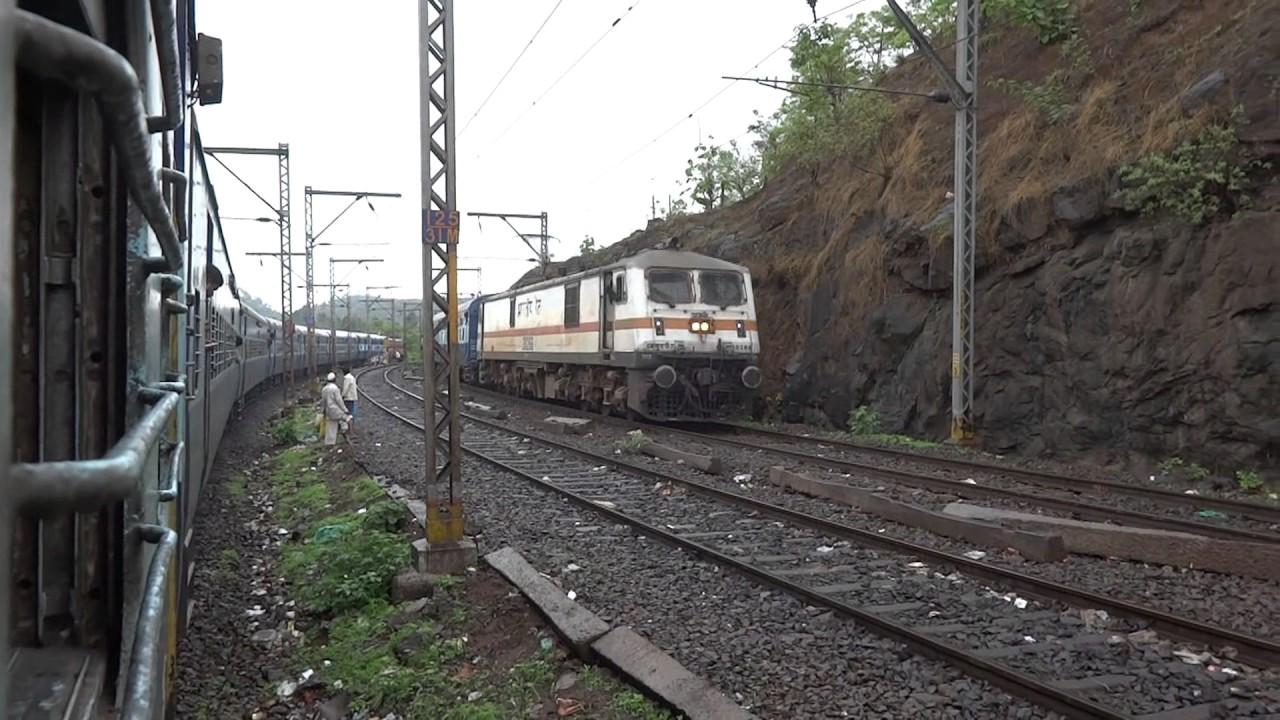 INDIAN RAILWAYS [FULL JOURNEY] : Rajendra Nagar-Mumbai Janta  Express-Igatpuri-Kasara Ghat Section