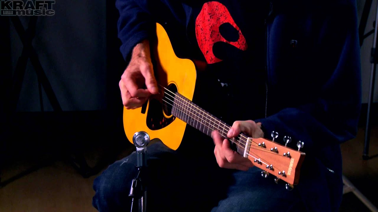 Kraft Music - Yamaha JR1 3/4 Scale Guitar Demo with Jake Blake