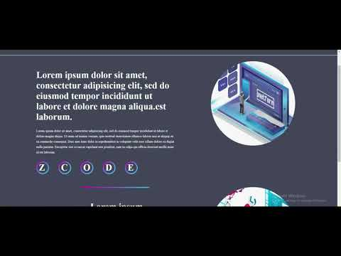 How To Create A Website Using HTML And CSS Step By Step ||  Website Tutorial/Z-code
