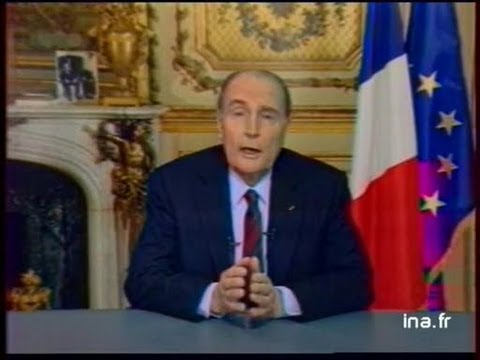 Direct Elysée / Discours de François Mitterrand
